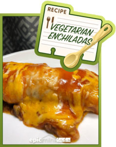 Vegetarian Enchiladas - Epic Mini Life